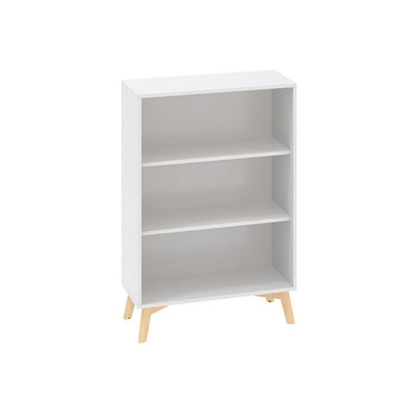 Skříň bez dveří ROOT 800 x 450 x 1215 mm, bílá
