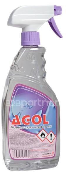 Alkoholový prostředek pro dezinfekci ploch a předmětů, 750 ml včetně rozprašovače