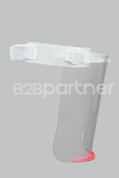 Ochranný štít na obličej PROFI, 28x28 cm