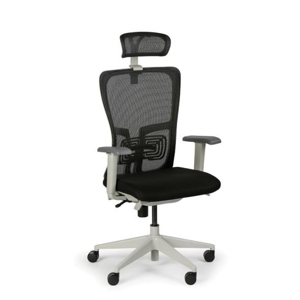Kancelářská židle GAM, 1+1 ZDARMA, černá