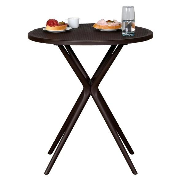 4x židle Lounge, béžová + stolek Coffee Time ZDARMA