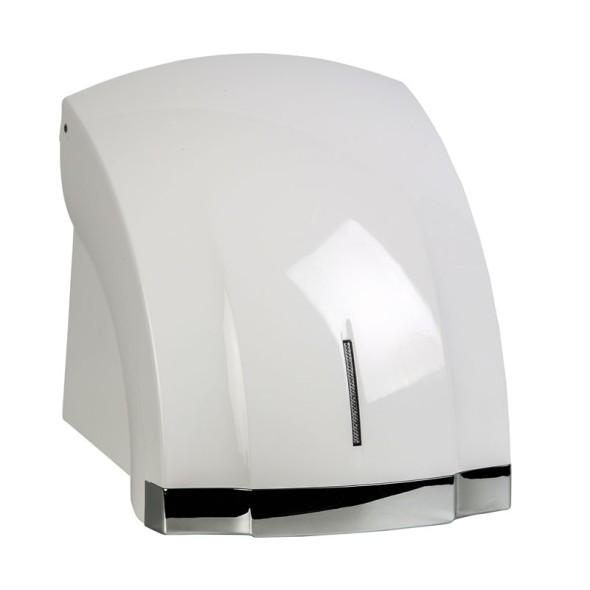 Automatický osoušeč rukou, bílý/chrom