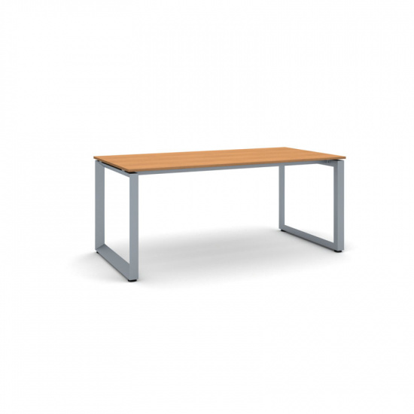 Jednací stůl INSPIRE se šedostříbrnou podnoží 1800 x 900 x 750 mm, třešeň