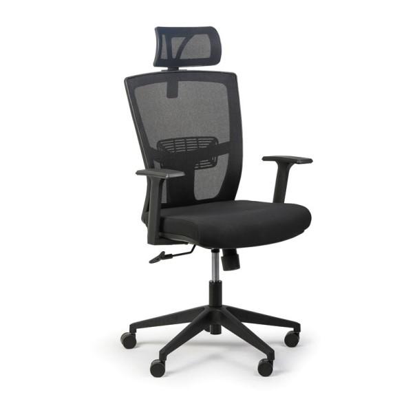 Kancelářská židle Fantom, černá