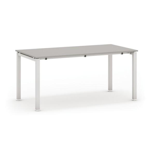 Jednací stůl AIR, deska 1800 x 600 mm, šedá