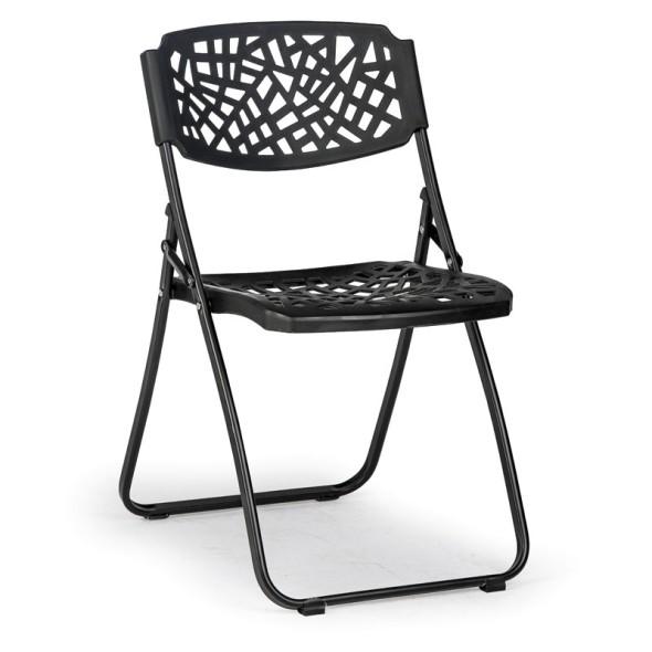 Skládací židle Metric, černá