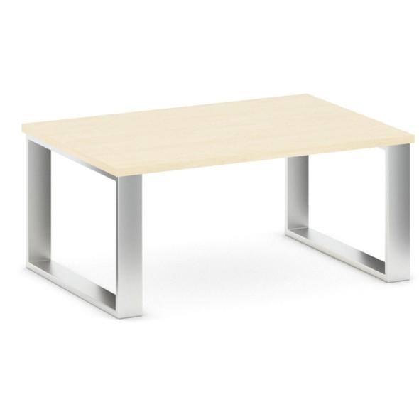 Konferenční stůl STIFF, deska 1000 x 680 mm, bříza