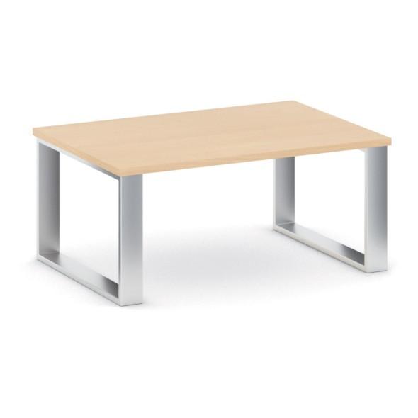 Konferenční stůl STIFF, deska 1000 x 680 mm, buk