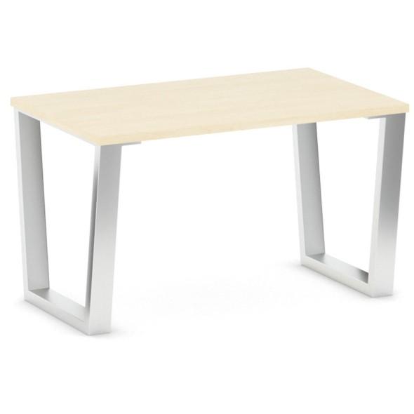 Konferenční stůl VECTOR, deska 1000 x 610 mm, bříza