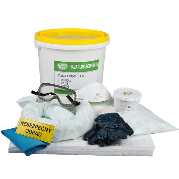 Olejová havarijní souprava plastový kbelík