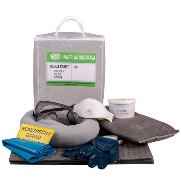 Univerzální havarijní souprava, plastová taška