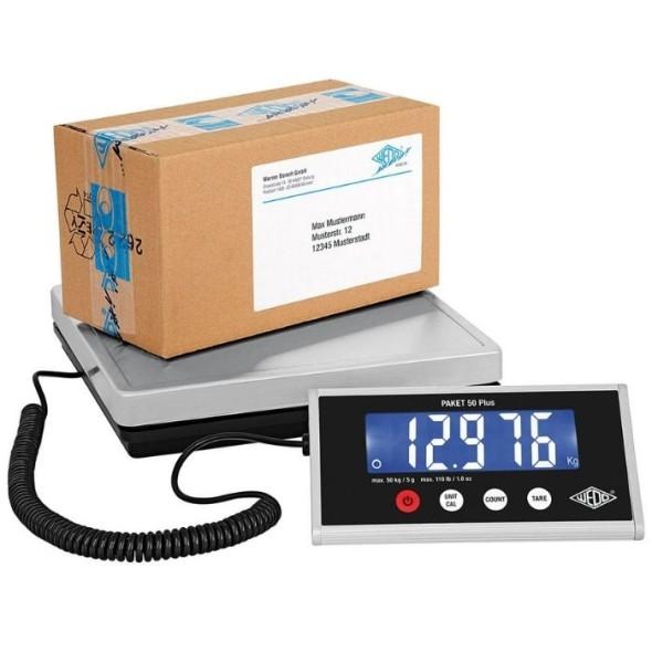 Počítací váha PAKET 50 Plus, 50 kg