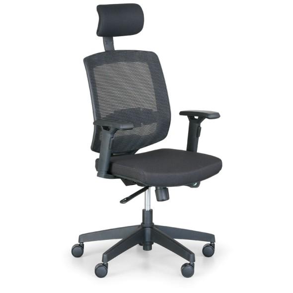 Kancelářská židle PEGAS, černá