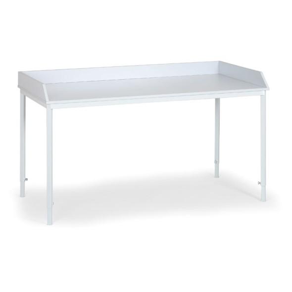 Montážní stůl s ohrádkou, délka 1600 mm