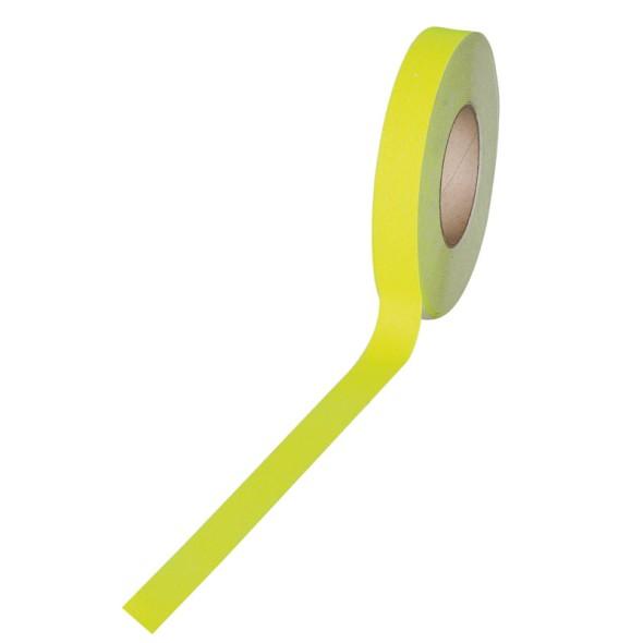 Protiskluzová páska - jemné zrno, 25 mm x 18,3 m, fluorescenční žlutá