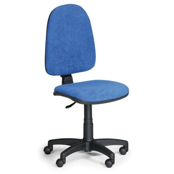 Kancelářská židle TORINO bez područek, modrá