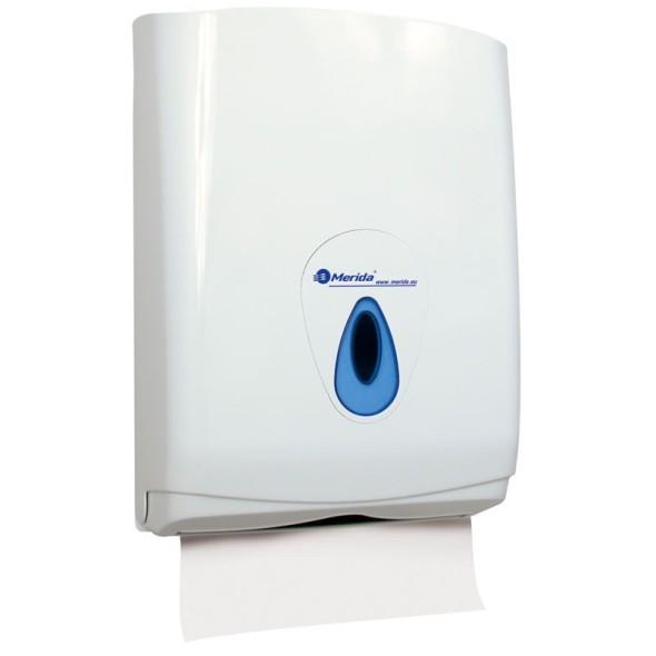 Zásobník na jednotlivé skládané papírové ručníky MERIDA TOP MAXI, na 500 ks