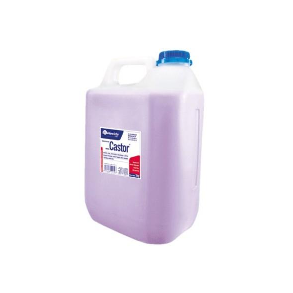 Tekuté mýdlo MERIDA CASTOR, fialové, 5 kg