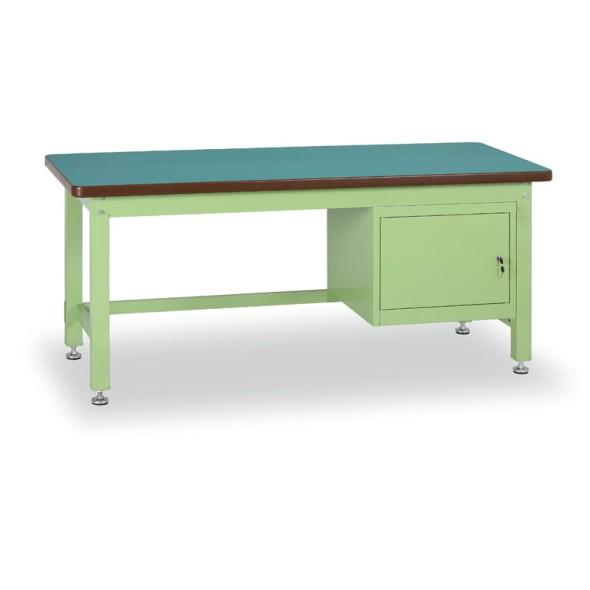 Dílenský stůl GL se skříňkou, 1500 mm