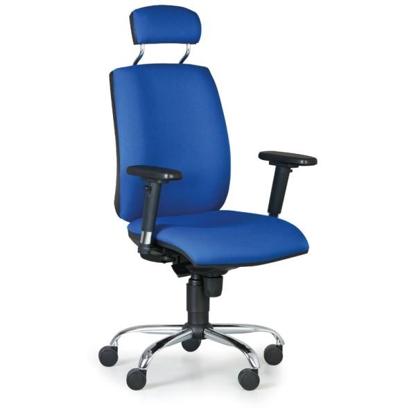 Kancelářská židle FLEXIBLE, modrá