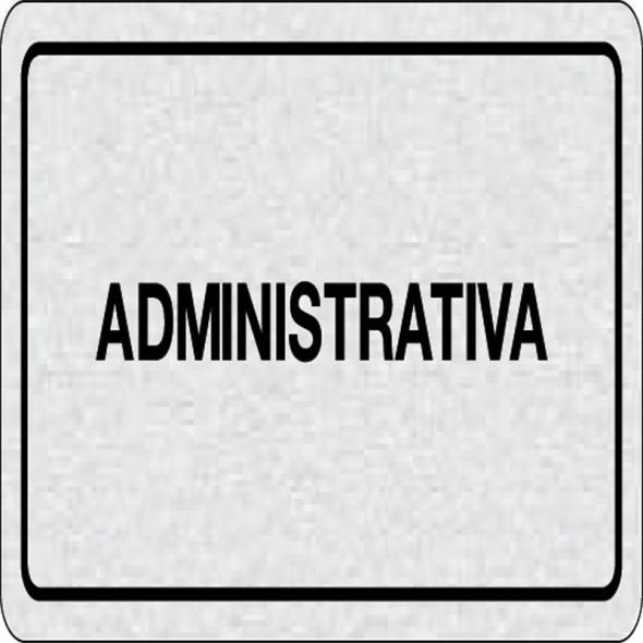 Cedulka na dveře - Administrativa