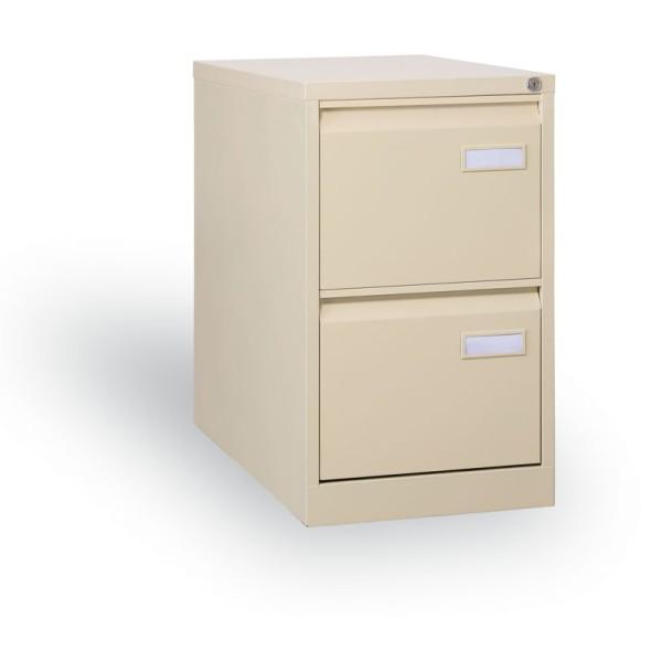 Kartotéky pro formát A4, 2 zásuvky, béžová