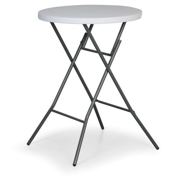 Skládací koktejlový stůl
