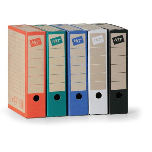 Archivační krabice Board, modrá, šířka 7,5 cm