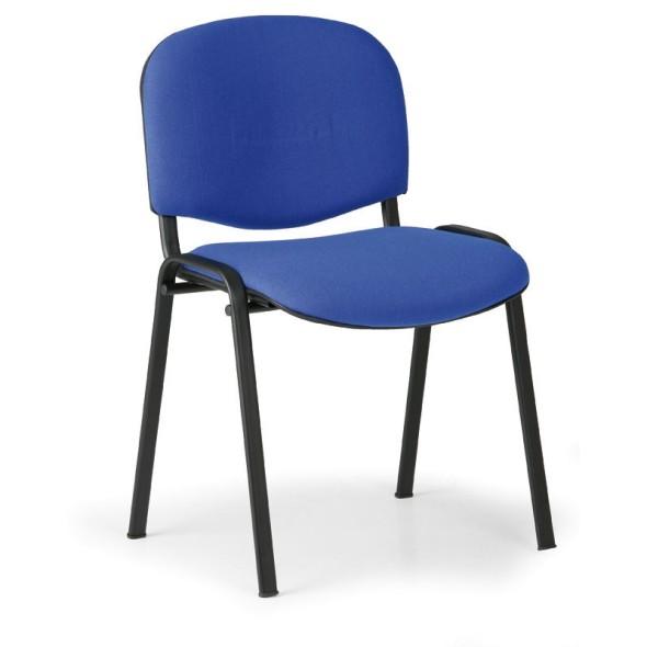 Konferenční židle VIVA 3+1 ZDARMA, modrá
