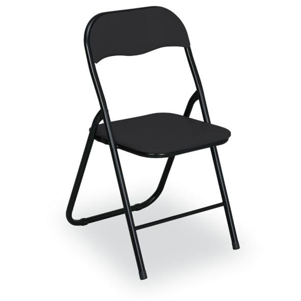 Skládací konferenční židle BRIEFING 4+2 ZDARMA, černé
