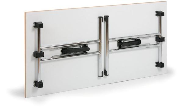 Skládací konferenční stůl FOLD, 1600x800 mm, dezén buk
