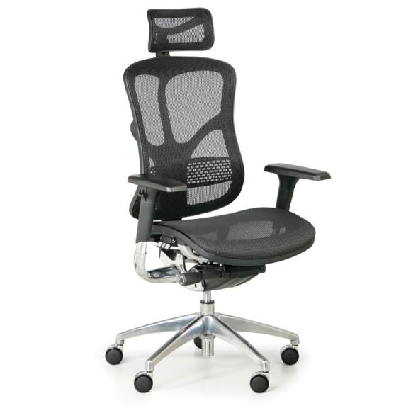 Multifunkční kancelářská židle WINSTON AA, černá
