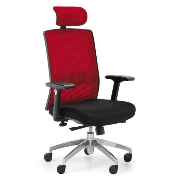 Kancelářská židle ALTA MF, červená