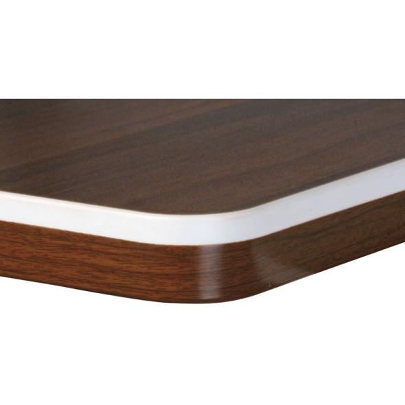 Psací stůl ARRISTO LUX, oblouk pravý, 1800 mm, ořech