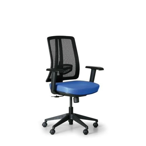 Krzesło biurowe Roy, czarny | B2B Partner