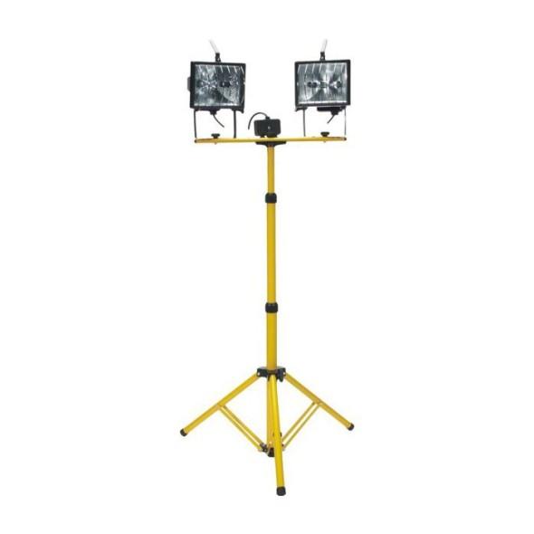 Reflektor halogenowy na statywie DUO