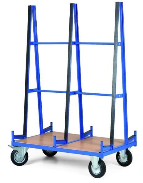 Wózek do transportu płyt, 1200x800 mm, nośność 600 kg