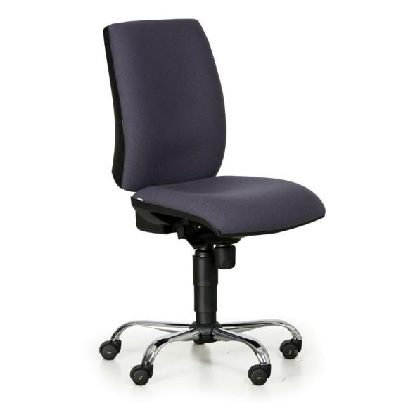 Fotel biurowy antystatyczny ESD, ciemno-szary