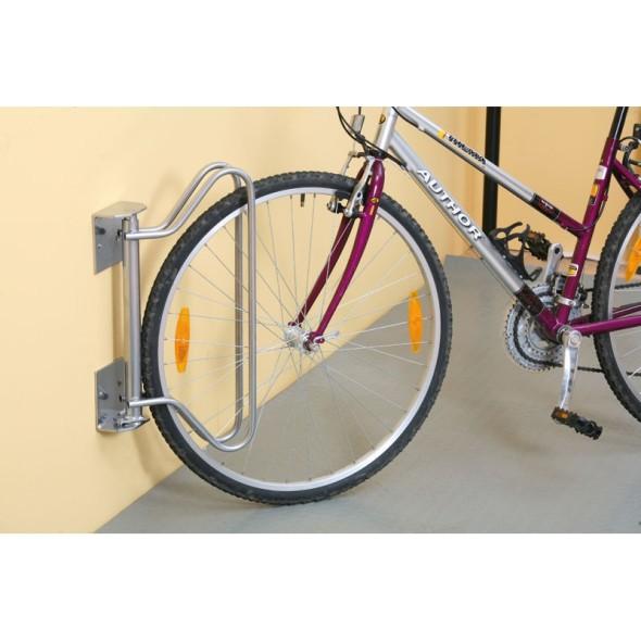 Stojak na rower na ścianę z ustawianym kątem stania