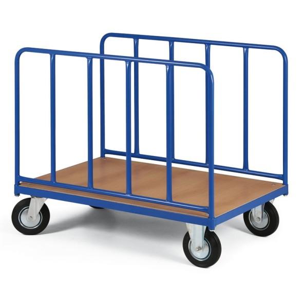 Wózek platformowy na długie elementy, 1200x700 mm, nośność 500 kg