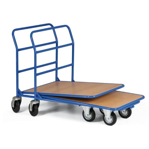 Zasuwany wózek transportowy, 350 kg, platforma 970x660 mm