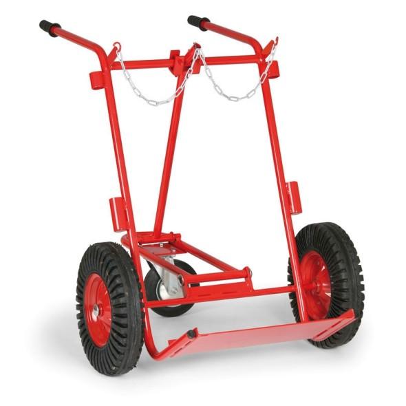 Wózek na 2 butle ciśnieniowe 1000-1400 mm