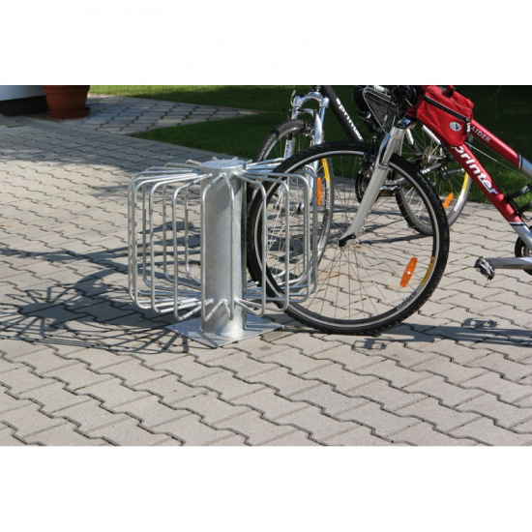 Stojak na rowery 360 dla 10-18 rowerów