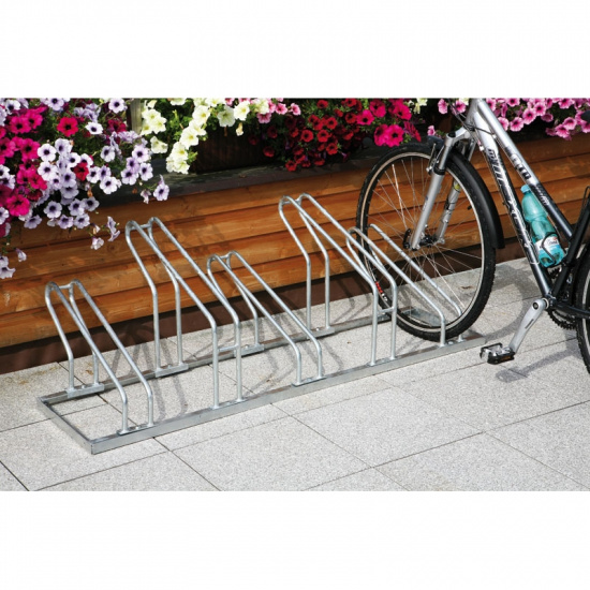 Jednostronny stojak na rowery - 5 rowerów