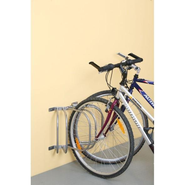 Stojak na 3 rowery na ścianę
