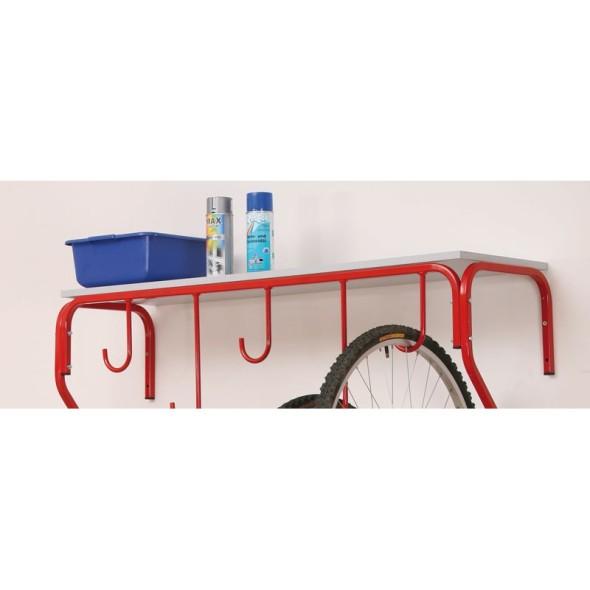 Półki do wieszaka na rower