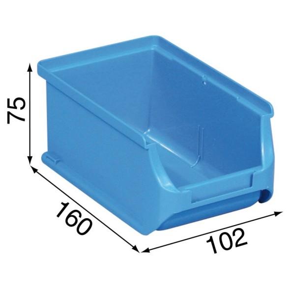 Warsztatowe pojemniki z tworzywa sztucznego - 102 x 160 x 75 mm
