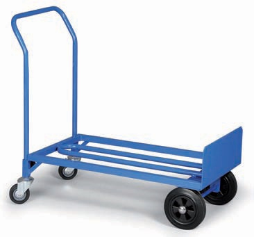 Taczka i wózek platformowy w jednym