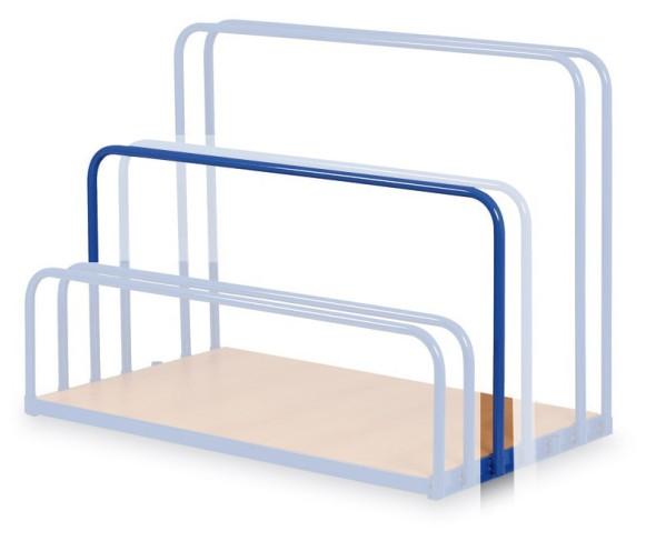 Barierka ograniczająca do wózka na płyty, 650 mm