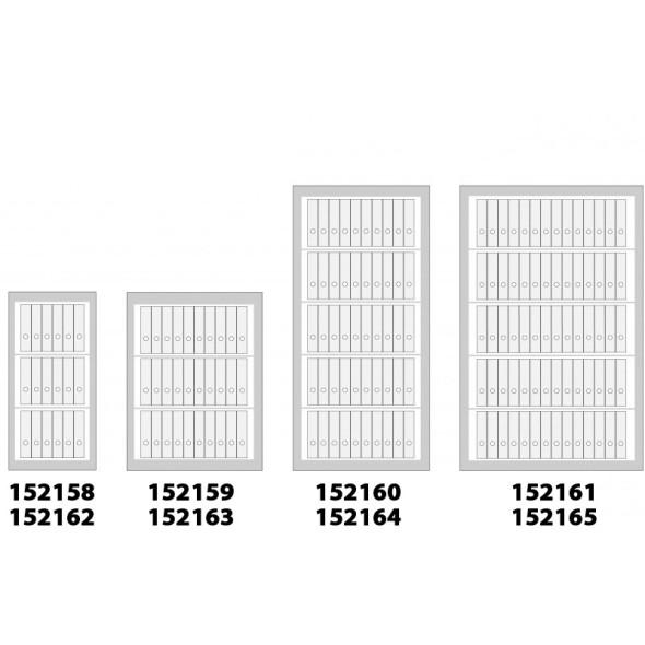 Szafa kartotekowa na dokumenty, 1220 x 600 x 520 mm